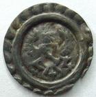 Photo numismatique  Monnaies Monnaies/medailles d'Alsace Colmar Rappen COLMAR, 16 em siècle Rappen, aigle et Ecu, 0,24 grammes, EL.37 TTB rare!