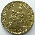 Photo numismatique  Monnaies Monnaies Françaises Troisième République 50 Centimes 50 centimes Domard, bon pour 50 centimes 1926, G.421 SUPERBE