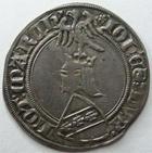 Photo numismatique  Monnaies Monnaies/médailles de Lorraine Jean Ier Gros JEAN Ier, 1346-1390, Gros de nancy, 2.45 grammes, Flon.34 TTB+