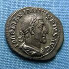 Photo numismatique  Monnaies Empire Romain 3ème siècle MAXIMIN Ier Denier MAXIMIN Ier denier frappé à Rome en 235.236, Pax Augusti, RIC 12 Superbe