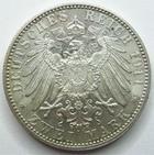 Photo numismatique  Monnaies Allemagne après 1871 Allemagne, Deutschland, Bayern, Baviere  BAYERN, BAVIERE, Zwei mark, 2 mark 1911 D, Luitpold, J.48 Petites traces sinon SUPERBE
