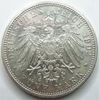 Photo numismatique  Monnaies Monnaies étrangères Allemagne Baden 5 Mark, Funf Mark BADEN, BADE, funf mark, 5 mark 1902 G, Friedrich 50 Regierungsjubilaum, J.31 SUPERBE