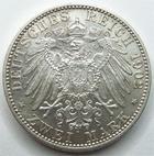 Photo numismatique  Monnaies Allemagne après 1871 Allemagne, Deutschland, Baden, Bade 2 mark, Zwei mark BADEN, BADE, zwei mark, 2 mark 1902, 50 Regierungsjubilaum, J.30 SUPERBE