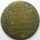 Photo numismatique  Monnaies Jetons Chambre des comptes Jeton cuivre/laiton Chambre des comptes du clergé, jeton 27 mm, Rationibus…, 1600, TB+