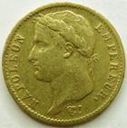 Photo numismatique  Monnaies Monnaies Française en or 1er Empire 20 Francs or NAPOLEON I, 20 francs or 1812 A, G.1025 TTB