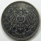 Photo numismatique  Monnaies Allemagne après 1871 Allemagne, Deutschland, Empire, Kaisereich 1/2 Mark Allemagne, Deutschland, Germany, Empire, 1/2 mark 1917 G, J.16 TTB à SUPERBE