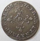 Photo numismatique  Monnaies Monnaies Royales Louis XIV Médaille 4 Sols des traîtants LOUIS XIV, 4 sols dits