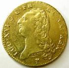 Photo numismatique  Monnaies Monnaies royales en or Louis XVI Double louis d'or aux Ecus accolés LOUIS XVI, Double louis d'or aux Ecus accolés, 1786 I Limoge 1 er semestre, 15.34 grms, L4L.537 stries d'ajustage sinon presque SUPERBE, beau brillant