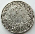 Photo numismatique  Monnaies Monnaies Françaises Troisième République 1 Franc 1 franc Cérès 1888 A Paris, G.465a TTB