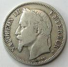 Photo numismatique  Monnaies Monnaies Françaises Second Empire 1 Franc NAPOLEON III, 1 franc 1867 BB, petit BB, G.463 TB+
