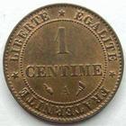 Photo numismatique  Monnaies Monnaies Françaises Troisième République 1 Centime 1 centime Cérès 1897 A, G.88 presque SUPERBE