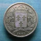 Photo numismatique  Monnaies Monnaies Fran�aises Louis XVIII 1 Franc LOUIS XVIII 1 Franc 1824 A, G.449 TTB+
