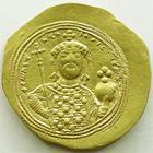 Photo numismatique  Monnaies Monnaies Byzantines 11ème siècle histamenon CONSTANTINUS IX, CONSTANTIN IX Monomachus, Histamenon, 1042-1055, 4.38 grammes, Sear.1830 SUPERBE