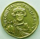 Photo numismatique  Monnaies Monnaies Byzantines 7ème siècle Solidus, solidii CONSTANS II, Solidus Constantinople en 641-668, 4.44 grammes, Sear.936 Quasi FDC Bel exemplaire!!