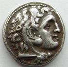 Photo numismatique  Monnaies Monnaies grecques Colophon, Kolophon Drachme, Drachm PHILIPPUS III, PHILIPPE III Arridhée, Drachme Colophon en 323-317, 4.11 grms, Price.43 TTB+