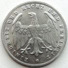 Photo numismatique  Monnaies Allemagne après 1871 Allemagne, Deutschland, Weimar republik, republique de Weimar 500 Mark République de Weimar, Weimar républik, 500 marks 1923 D, KM.36 TTB à SUPERBE