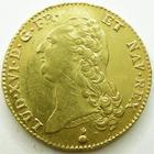 Photo numismatique  Monnaies Monnaies royales en or Louis XVI Double louis d'or aux Ecus accolés LOUIS XVI, double louis d'or aux Ecu accolés, 1788 AA Metz, 15.26 grammes, L4L R3.537  TTB+