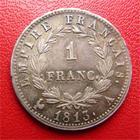 Photo numismatique  Monnaies Monnaies Françaises Consulat 1 Franc BONAPARTE PREMIER CONSUL, Consulat, 1 franc AN 12 A, G.442 SUPERBE