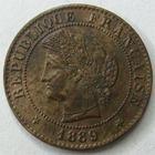 Photo numismatique  Monnaies Monnaies Françaises Troisième République 1 Centime 1 centime Cérès 1889 A Paris, G.88 TTB+