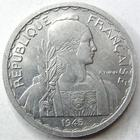 Photo numismatique  Monnaies Anciennes colonies Françaises Indochine 20 Centimes INDOCHINE, 20 centimes 1945 B, LEC.252 TTB+