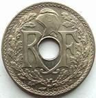 Photo numismatique  Monnaies Monnaies Françaises Troisième République 25 centimes Lindauer 25 centimes Lindauer .1939., G.381 SUPERBE+