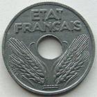 Photo numismatique  Monnaies Monnaies Françaises Etat Français 10 Centimes 10 centimes zinc 1943, G.290 SUPERBE