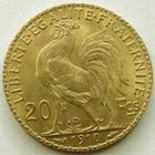 Photo numismatique  Monnaies Monnaies Française en or Troisième République 20 Francs or 20 francs or Coq 1910, G.1064a SUPERBE/TTB+
