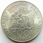 Photo numismatique  Monnaies Monnaies Françaises Cinquième république 100 francs Clovis 100 Francs