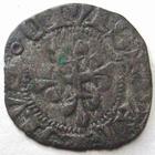 Photo numismatique  Monnaies Monnaies Royales Charles VI Denier Parisis CHARLES VI le fou, denier Parisis, 2 em �mission 11 Septembre 1389, 1.25 grammes, DY.398A TTB