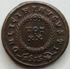 Photo numismatique  Monnaies Empire Romain LICINIUS I, LICINIO I,  Follis, folles,  LICINIUS I, Follis, ASIS* = Siscia en 320, DN LICINI AUGUSTI, 3.40 grammes, RIC.150 SUPERBE