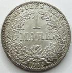 Photo numismatique  Monnaies Allemagne après 1871 Allemagne, Deutschland, Empire, Kaisereich 1 Mark Allemagne, Deutschland, Empire, Kaisereich, 1 mark 1914 A, J.17 SUPERBE