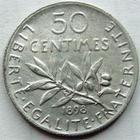 Photo numismatique  Monnaies Monnaies Françaises Troisième République 50 Centimes 50 centimes Semeuse de Roty, 1898, G.420 TTB/TTB+