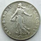 Photo numismatique  Monnaies Monnaies Françaises Troisième République 50 Centimes 50 centimes Semeuse de Roty, 1909, G.420 TTB+