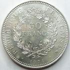 Photo numismatique  Monnaies Monnaies Françaises Cinquième république 50 Francs 50 francs en argent type Hercule, 1974, G.882 SUPERBE