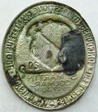 Photo numismatique  Monnaies Monnaies/medailles d'Alsace Colmar Epinglette COLMAR, epinglette, St Martin 26-27 Juin 1920, Concourt de gymnastique, chant et musique, cercle catholique du haut Rhin,