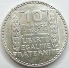 Photo numismatique  Monnaies Monnaies Françaises Troisième République 10 Francs 10 Francs Turin 1933, G.801 TTB/TTB+
