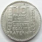 Photo numismatique  Monnaies Monnaies Françaises Troisième République 10 Francs 10 Francs Turin 1933, G.801 TTB