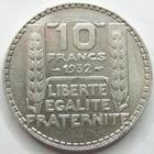 Photo numismatique  Monnaies Monnaies Françaises Troisième République 10 Francs 10 Francs Turin 1932, G.801 TTB+