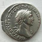 Photo numismatique  Monnaies Empire Romain TRAJAN, TRAJANUS, TRAIAN, TRAIANO Denier, denar, denario, denarius TRAIANUS, TRAJAN, Denier Rome en 112-113, ALIM ITAL, Annona, 3.09 grammes, RIC.243 TTB+/SUPERBE