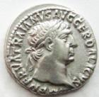 Photo numismatique  Monnaies Empire Romain TRAJAN, TRAJANUS, TRAIAN, TRAIANO Denier, denar, denario, denarius TRAIANUS, TRAJAN, Denier, Rome en 103-111, la Dacie en pleurs, 3.31 grammes, RIC.89 TTB+