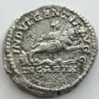 Photo numismatique  Monnaies Empire Romain SEPTIME SEVERE, SEPTIMUS SEVERUS, SEPTIMO SEVERO Denier, denar, denario, denarius SEPTIMUS SEVERUS, SEPTIME SEVERE, Denier, Rome en 204, Indulgentiae Augg In Carth, 3.35 grammes, RIC.266 Bon TTB