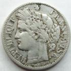 Photo numismatique  Monnaies Monnaies Françaises Troisième République 2 Francs 2 Francs Cérès 1894 A, G.530 A TTB