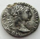 Photo numismatique  Monnaies Empire Romain TRAJAN, TRAJANUS, TRAIAN, TRAIANO Denier, denar, denario, denarius TRAJANUS, TRAJAN, Denier, rome en 103-112, victoire, 3,20 grammes, RIC.131 TB+