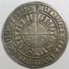 Photo numismatique  Monnaies Monnaies/médailles de Lorraine Metz Gros au St Etienne agenouillé METZ, Gros au St Etienne agenouillé, 1415-1540, 2,96 grammes, Flon p.519 3.10 TTB+