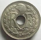 Photo numismatique  Monnaies Monnaies Françaises Troisième République 10 Centimes 10 centimes Lindauer 1917, listel haut, G.286 Variante Presque FDC
