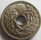 Photo numismatique  Monnaies Monnaies Françaises Troisième République 5 centimes Lindauer 5 centimes Lindauer 1922 Poissy, G.170 Quasi FDC