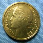 Photo numismatique  Monnaies Monnaies Fran�aises Troisi�me R�publique 50 Centimes 50 Centimes type Morlon, 1940, bronze-aluminium, Gadoury 423 TTB