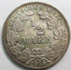 Photo numismatique  Monnaies Allemagne après 1871 Allemagne, Deutschland, Empire, Kaisereich 1/2 Mark Allemagne, Deutschland, Empire, Kaisereich, 1/2 Mark 1916 A, J.16 SUPERBE
