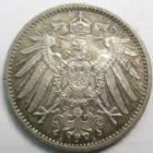 Photo numismatique  Monnaies Allemagne après 1871 Allemagne, Deutschland, Empire, Kaisereich 1 Mark Allemagne, Deutschland, Empire, Kaisereich, 1 mark 1915 A, J.17 SUPERBE