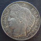 Photo numismatique  Monnaies Monnaies Françaises Troisième République 50 Centimes 50 centimes Cérès 1887 A, G.419a TTB à SUPERBE